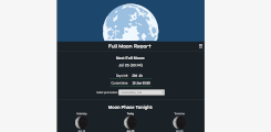 Full moon report